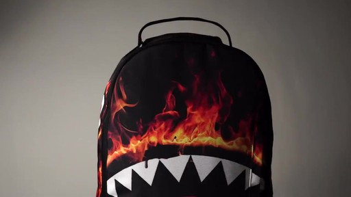 Sprayground Fire Shark Backpack - Shop eBags.com - image 2 from the video