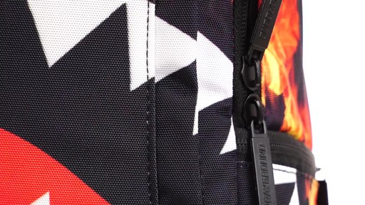 Sprayground Fire Shark Backpack - Shop eBags.com - image 8 from the video