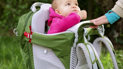 Osprey Poco AG Child Carrier - image 7 from the video