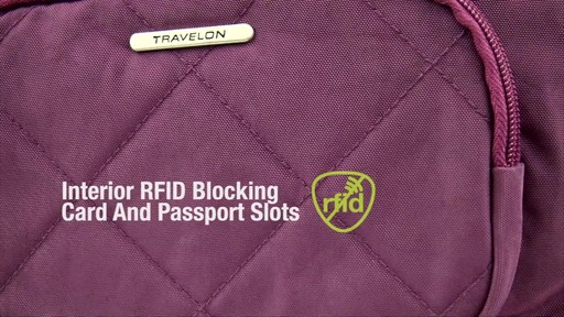 Travelon Anti-Theft Small Crossbody bag- on eBags.com - image 4 from the video