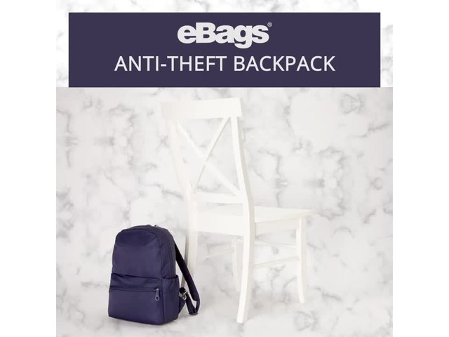 eBags Anti-Theft Backpack - image 10 from the video