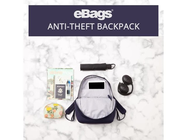 eBags Anti-Theft Backpack - image 2 from the video