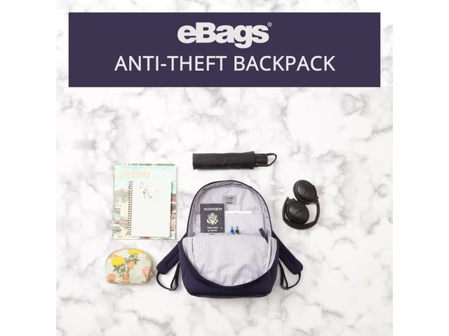 eBags Anti-Theft Backpack - image 3 from the video