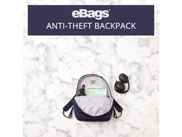 eBags Anti-Theft Backpack - image 5 from the video