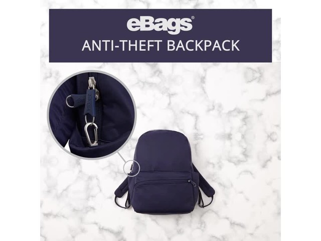 eBags Anti-Theft Backpack - image 6 from the video