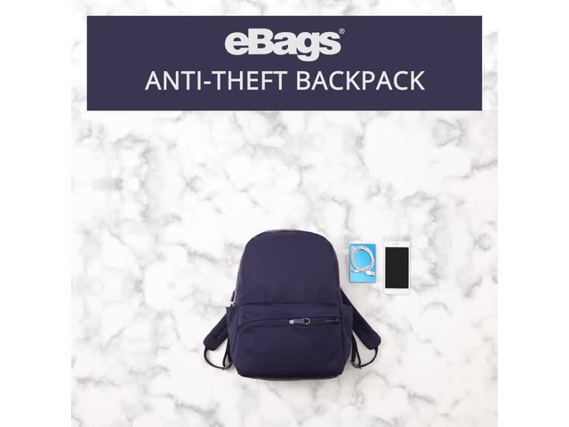 eBags Anti-Theft Backpack - image 7 from the video