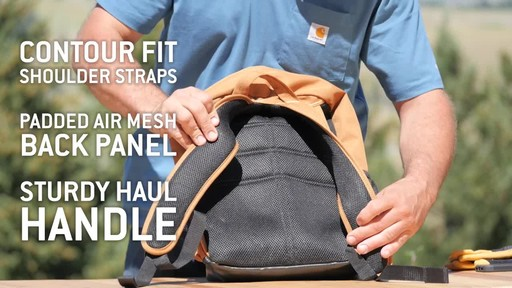 Carhartt Standard Work Pack - image 3 from the video
