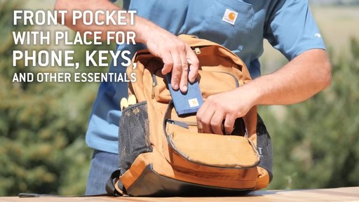 Carhartt Standard Work Pack - image 6 from the video