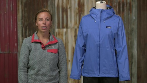 Patagonia Womens Torrentshell Jacket - on eBags.com - image 10 from the video