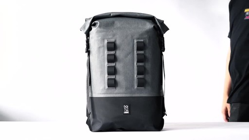 Chrome Industries Urban Ex Rolltop 28L Laptop Backpack - image 1 from the video