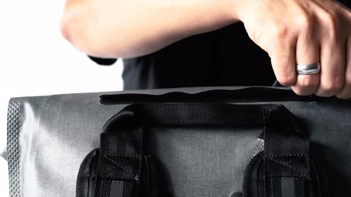 Chrome Industries Urban Ex Rolltop 28L Laptop Backpack - image 4 from the video