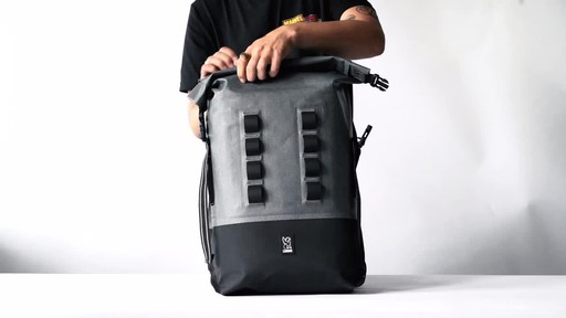 Chrome Industries Urban Ex Rolltop 28L Laptop Backpack - image 6 from the video
