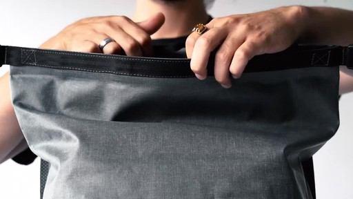 Chrome Industries Urban Ex Rolltop 28L Laptop Backpack - image 7 from the video