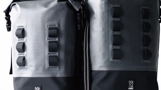 Chrome Industries Urban Ex Rolltop 28L Laptop Backpack - image 9 from the video