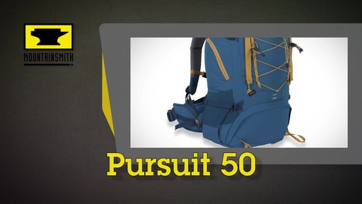 Mountainsmith Pursuit 50 Hiking Backpack - image 1 from the video