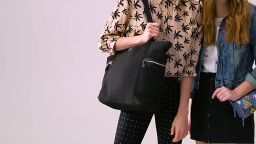 Vera Bradley Iconic Deluxe Vera Tote - image 1 from the video