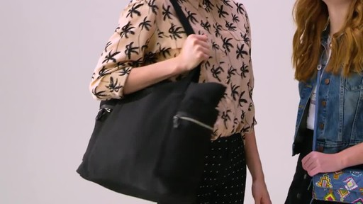 Vera Bradley Iconic Deluxe Vera Tote - image 3 from the video