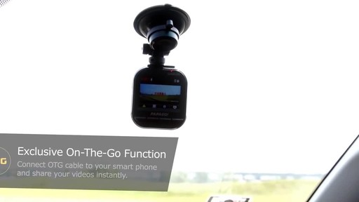 PAPAGO GoSafe 535 Ultra HD 1296P Super Wide Angle Dash Camera with 8GB Micro SD Card GS5358G - image 3 from the video