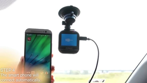 PAPAGO GoSafe 535 Ultra HD 1296P Super Wide Angle Dash Camera with 8GB Micro SD Card GS5358G - image 5 from the video
