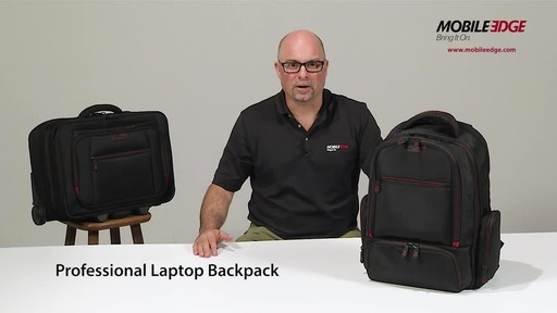 Mobile Edge Professional Backpack - image 1 from the video