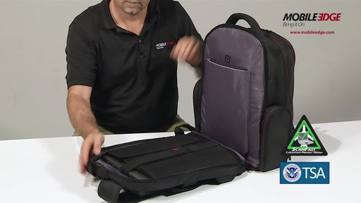 Mobile Edge Professional Backpack - image 10 from the video