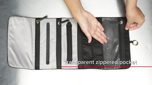 Tumi Voyageur Ennis Jewelry Travel Roll - image 4 from the video