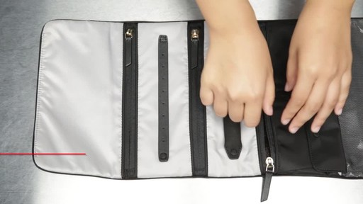 Tumi Voyageur Ennis Jewelry Travel Roll - image 5 from the video