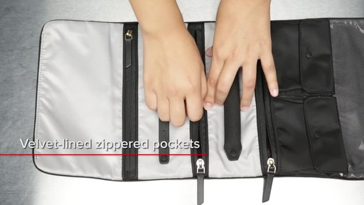 Tumi Voyageur Ennis Jewelry Travel Roll - image 7 from the video