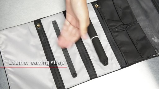 Tumi Voyageur Ennis Jewelry Travel Roll - image 9 from the video