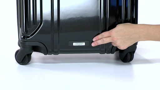 Tumi Vapor Lite Short Trip Packing Case - eBags.com - image 9 from the video