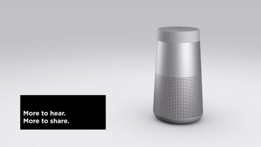 Bose SoundLink Revolve Bluetooth Speakers - image 1 from the video