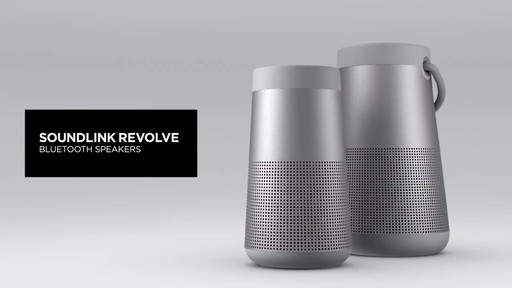 Bose SoundLink Revolve Bluetooth Speakers - image 7 from the video