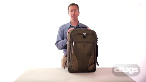 Carry hands-free. eTech 2.0 Weekender - image 1 from the video