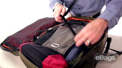 Carry hands-free. eTech 2.0 Weekender - image 10 from the video