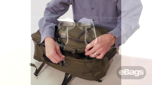 Carry hands-free. eTech 2.0 Weekender - image 8 from the video