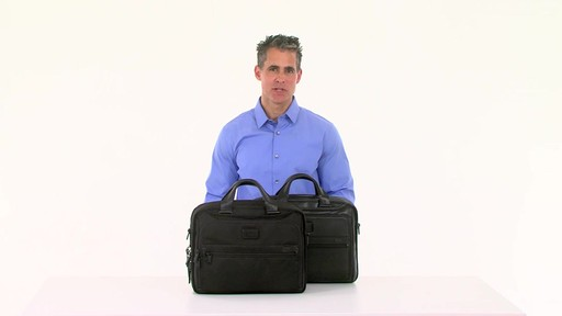 Tumi Alpha 2 Organizer Brief - image 10 from the video
