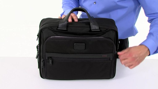 Tumi Alpha 2 Organizer Brief - image 4 from the video