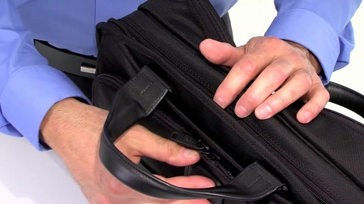 Tumi Alpha 2 Organizer Brief - image 6 from the video