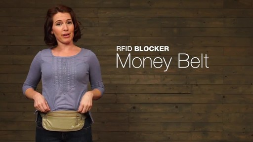 Eagle Creek RFID Blocker Money Belt DLX - image 1 from the video