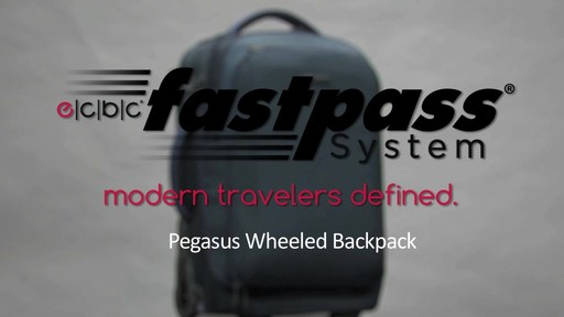 ecbc Pegasus Wheeled Backpack - eBags.com - image 1 from the video
