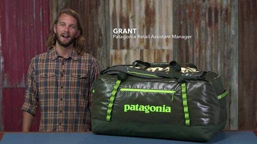 Patagonia Black Hole Duffle 120L - image 1 from the video