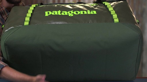 Patagonia Black Hole Duffle 120L - image 8 from the video
