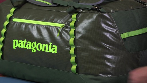Patagonia Black Hole Duffle 120L - image 9 from the video