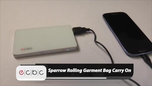 ecbc Sparrow Wheeled Garment Bag - eBags.com - image 10 from the video