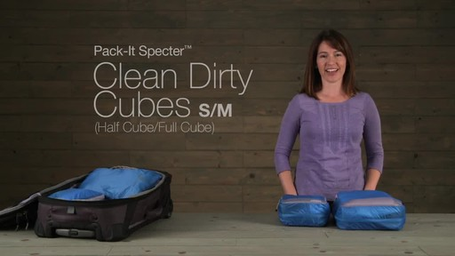 Eagle Creek Pack-It Specter™ Clean Dirty Cubes - image 1 from the video