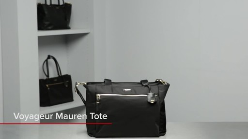 Tumi Voyageur Mauren Tote - image 1 from the video