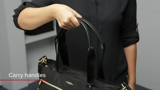 Tumi Voyageur Mauren Tote - image 3 from the video