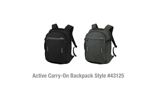 Travelon Anti-Theft Active Carry-on Backpack - on eBags.com - image 10 from the video