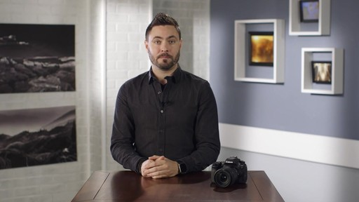 Canon EOS 80D 18-135 IS USM DSLR Camera Kit - image 3 from the video