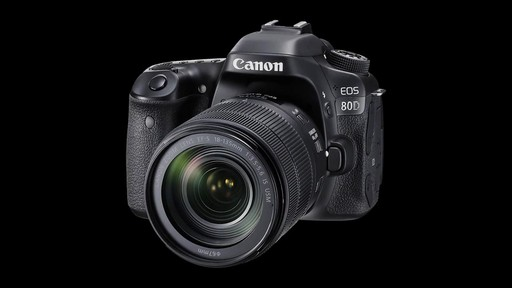 Canon EOS 80D 18-135 IS USM DSLR Camera Kit - image 9 from the video